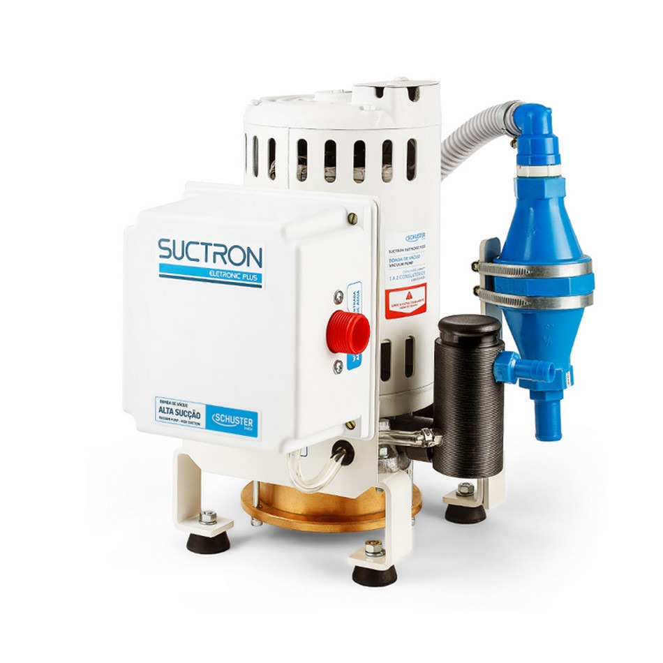 BOMBA VÁCUO SCHUSTER SUCTRON ELETRONIC PLUS 2 CONSULTÓRIOS SCHUSTER